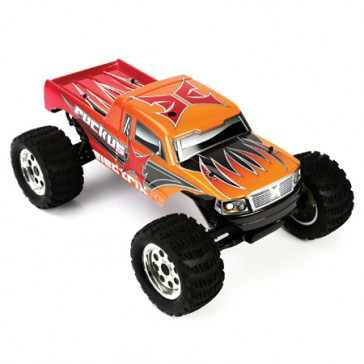DISC.. Car Ruckus 1/10 Monster Truck V2 RTR kit (Orange)