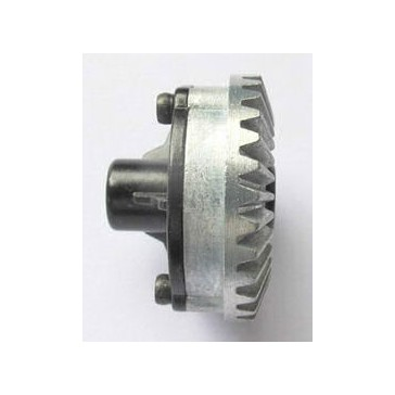 Axle bevel gear combination