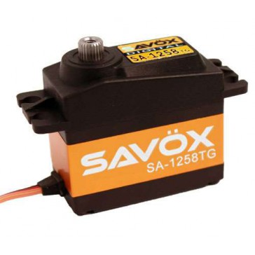 SA1258TG AIR HIGH TORQUE CORELESS DIGITAL SERVO 12KG@6.0V