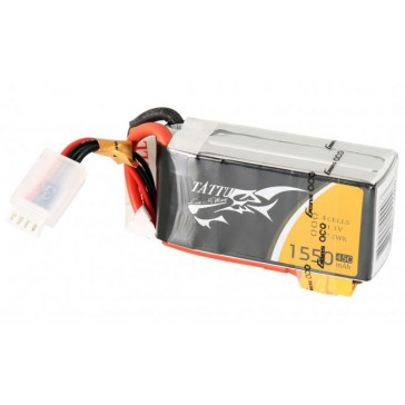 LiPo 4S1P 14,8V 1550mAh 45C 73x34x31mm 174g (XT60) for FPV