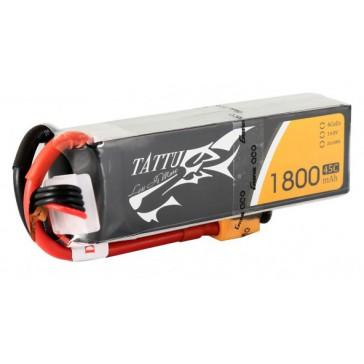 LiPo 4S1P 14,8V 1800mAh 45C 92x29x32mm 199g (XT60) for FPV