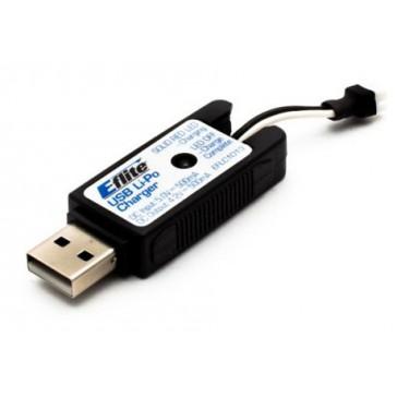 1S USB Li-Po Charger, 500mAh High Current UMX
