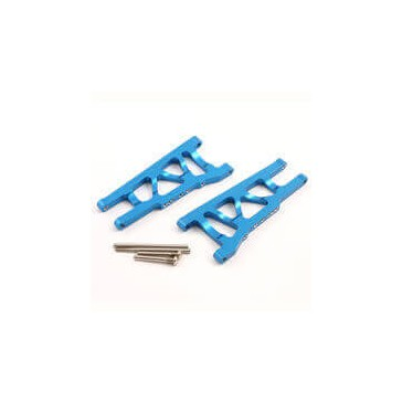 TRAXXAS SLASH 4x4/STAMPEDE 4X4 BLUE ALU FRONT/REAR LOWER ARMS