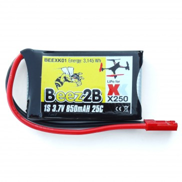 1s 3,7V 850mAh 25C lipo battery for XK X250