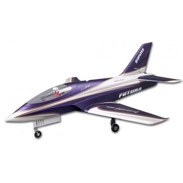 DISC.. Jet 80mm EDF Futura Purple PNP kit