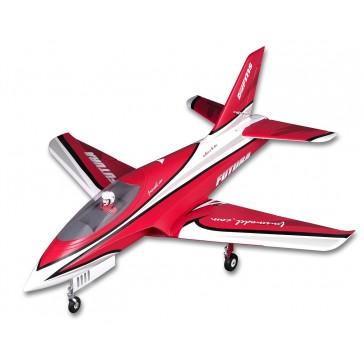 DISC.. Jet 80mm EDF Futura Red PNP kit
