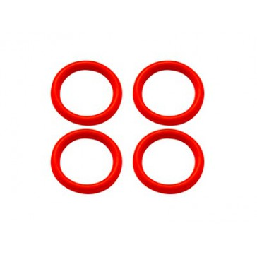 DISC.. Rubber O-Ring 6x1mm (Red)