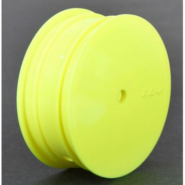 Front Wheel, 12mm Hex, Yellow (2): 22 3.0