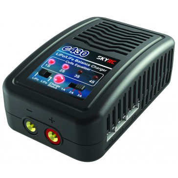 e430 AC Charger (LiPo & LiFe 2-4S up to 3A- 30w)