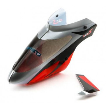 Blade Complete Canopy with Vertical Fin: mSR S