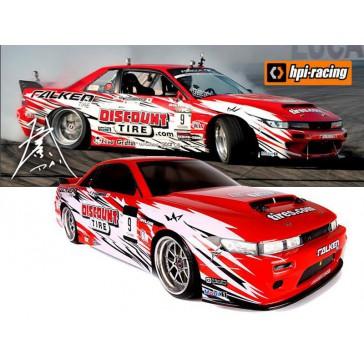 E10 Drift RTR - Discount Tire/Falken Nissan S13 B