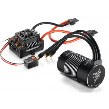 Ezrun Combo MAX8 150A TRX-Plug / Motor SL-4274-2200 für 1/8