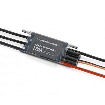 Seaking Boat Pro ESC 120A BEC 4A 2-6s for Competition