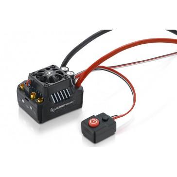 Ezrun ESC MAX10-SCT 120A BEC 4A 2-4s Waterproof for 1/10