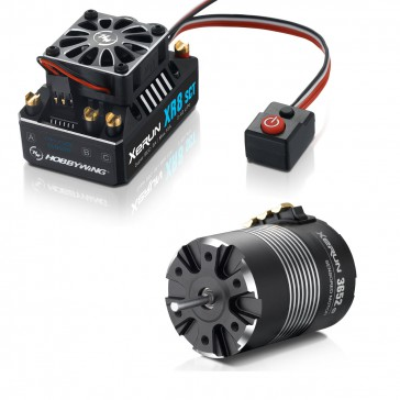 COMBO-XR8 SCT-3652SD-A 5100KV 1/10 2WD SCT / Buggy Truggy