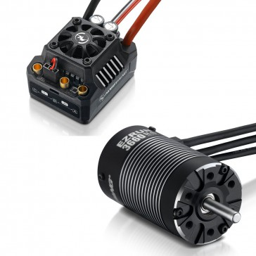 COMBO-MAX10 SCT-3660SL-4000KV 1/10 SCT,Monster/Buggy Waterproof