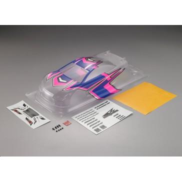 DISC.. Aeolus K1 Racing Body Pre-Painted Blue/Pink