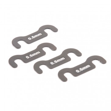 Split Block Shims - Mi6 - (pk4)