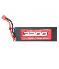 Lipo Battery 7.4V 2s 3200 mAh (T-plug)