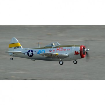 DISC.. Plane 800mm serie : P47 (silver) PNP kit with battery
