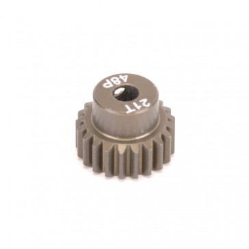 Pinion Gear 48DP 21T (7075 Hard)