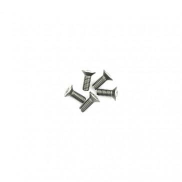 Titanium Csk Hex Screws M3 x 8 pk10
