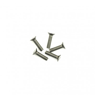 Titanium Csk Hex Screws M3 x 12 pk10