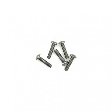 Titanium Caphead Hex Screws M3 x 12 pk10