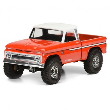 1966 CHEVROLET C-10 CLEAR BODY (CAB+BED) SCX10 313