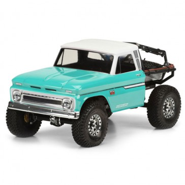 1966 CHEVROLET C-10 CLEAR BODY(CAB ONLY) SCX10 313