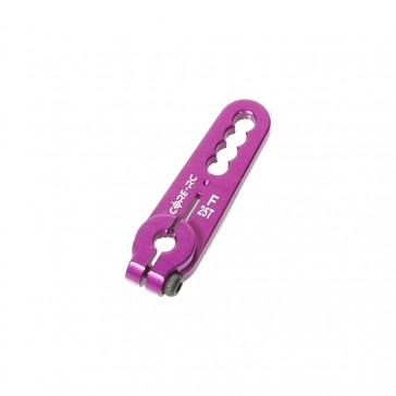 Alloy Servo Arm: Futaba Purple