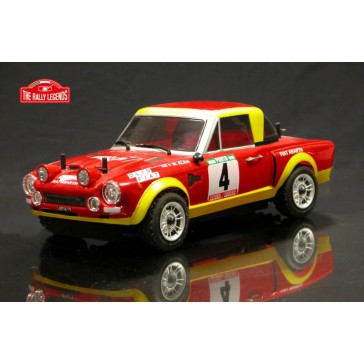 FIAT 124 ABARTH Portugal 1975 1/10 RC car ARTR Kit