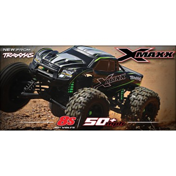 X-Maxx 4WD 8S brushless monstertruck Green Limited