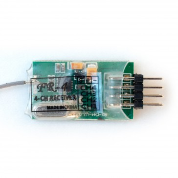 DISC.. 2,4 GHz 4 ch. Receiver for the 4ch Micro Radio