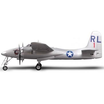 DISC.. Plane 1700mm F7F Tigercat Silver PNP kit