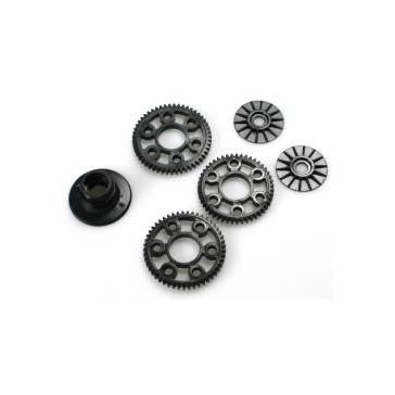 DISC...Plastic Set D (Friction plate, Diffparts, Spur Gear)