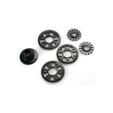 Plastic Set D (Friction plate, Diffparts, Spur Gear)