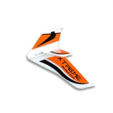 DISC.. Tail Fins-type A Red (Eflite MCX)