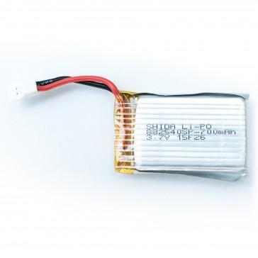 1S 700mAh Lipo battery - X130-T