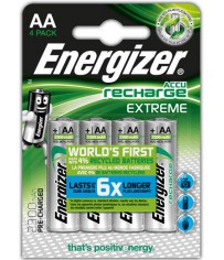 4 Accu AA rechar. extreme 2300 mAh precharg.