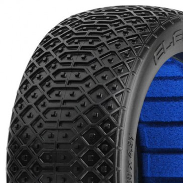 ELECTRON' M4 SUPER-S 1/8 BUGGY TYRES W/CLOSED CELL