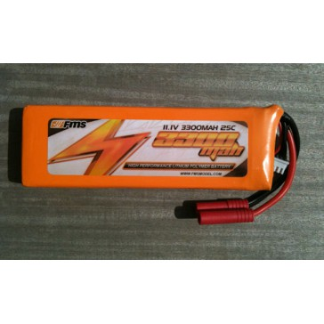 DISC.. Battery 11.1V 3300mAh 25C for B25/P38