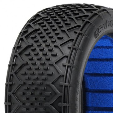 SUBURBS' X4 S-SOFT 1/8 BUGGY TYRES W/CLOSED CELL