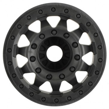 "F-11 2.8"" TRAXXAS BEAD BLACK WHEELS 17MM HEX STAMPEDE"
