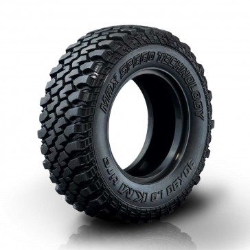"KM Crawler tire 30X90-1.9"" (soft-30°) (2) 30°"