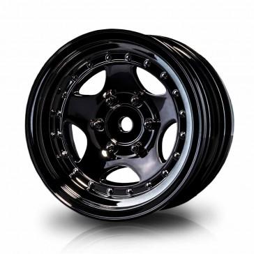"Silver black 236 1.9"" wheel (+5) (4)"