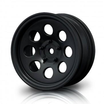 """Black flat 58H 1.9"""" crawler wheel (+5) (4)"""