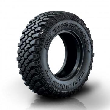"KM Crawler tire 30X90-1.9"" (2) 40°"