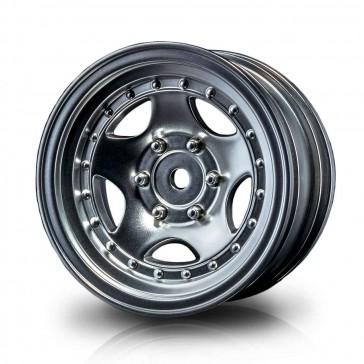 """Flat silver 236 1.9"""" wheel (+5) (4)"""