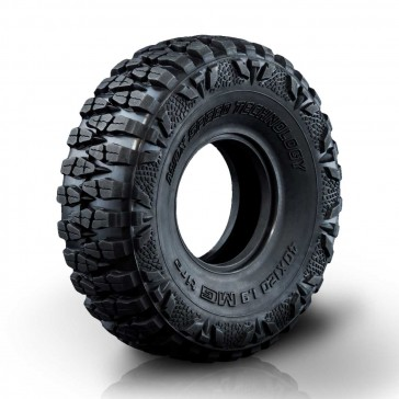 "MG Crawler tire 40X120-1.9"" (2)"